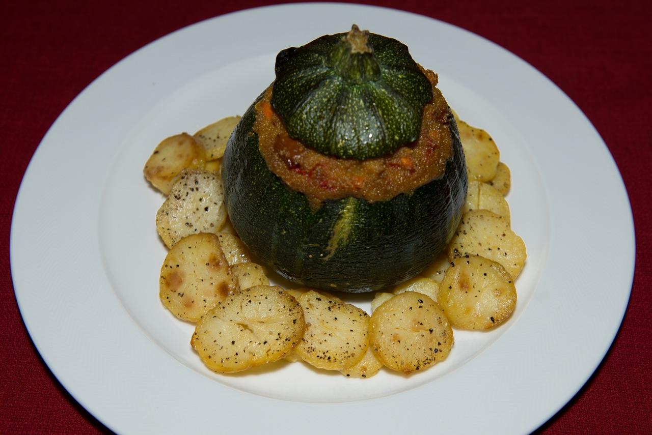 Gefellten Zucchini