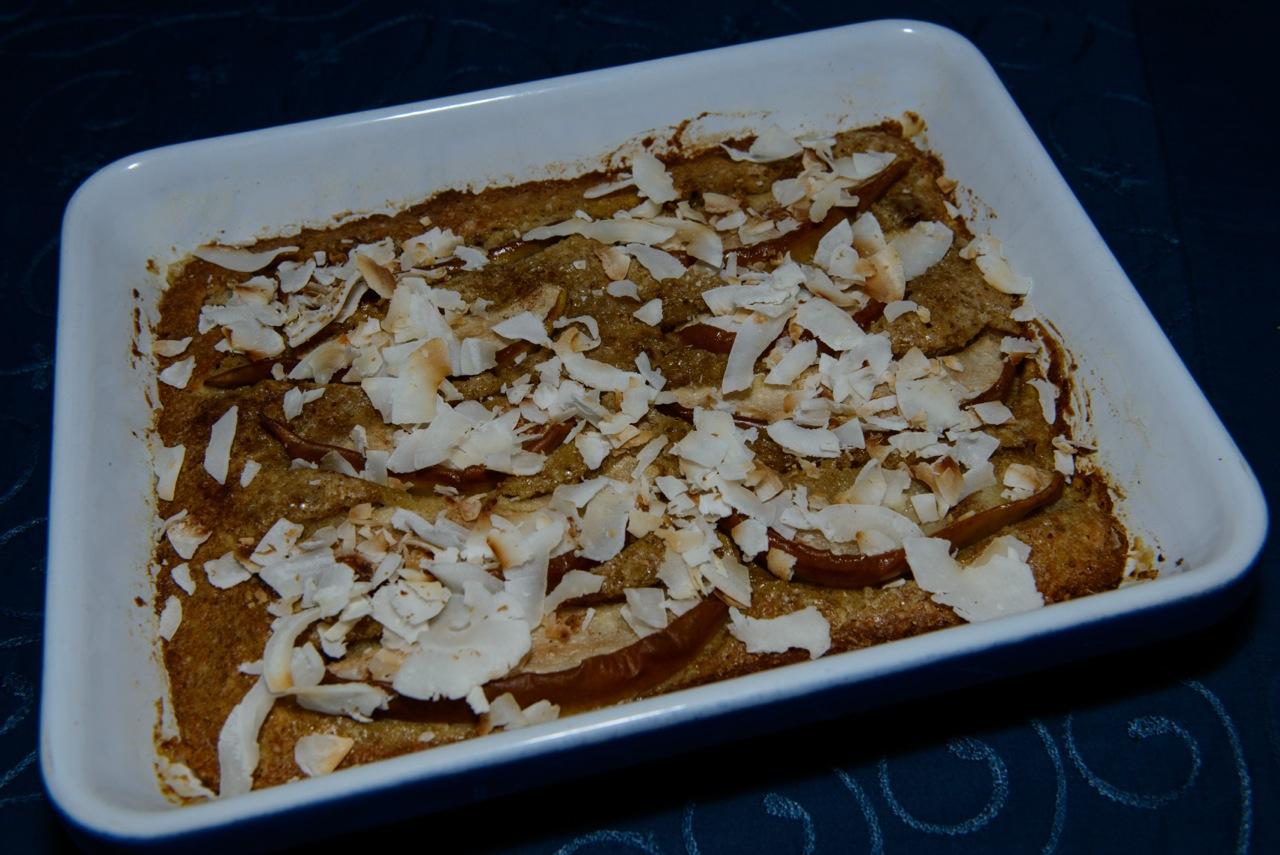 Birnen im Ofen überbacken