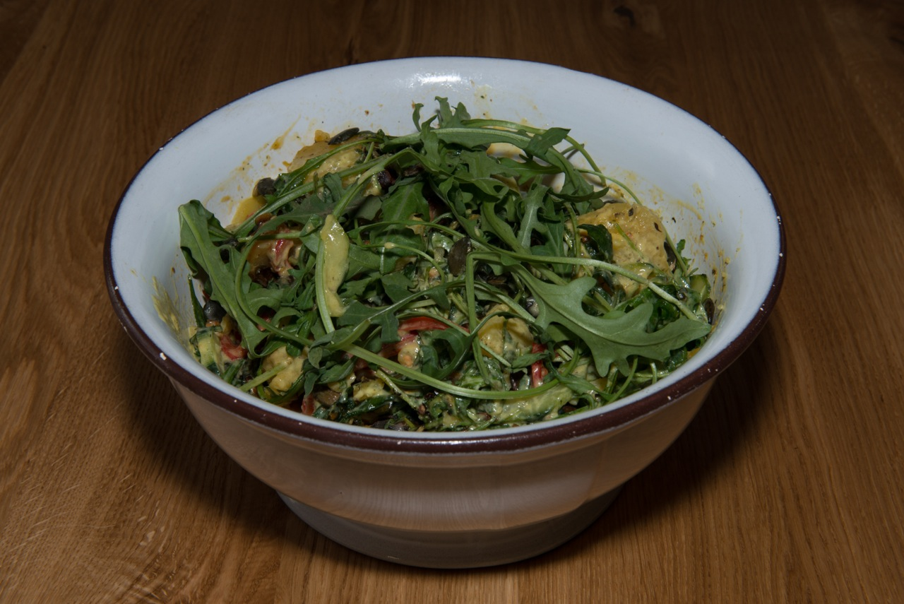 Tomaten Ruccolas Zalot