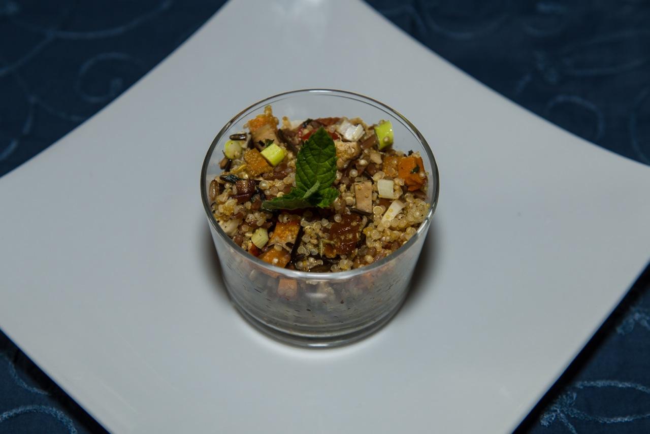 Salat Quinoa