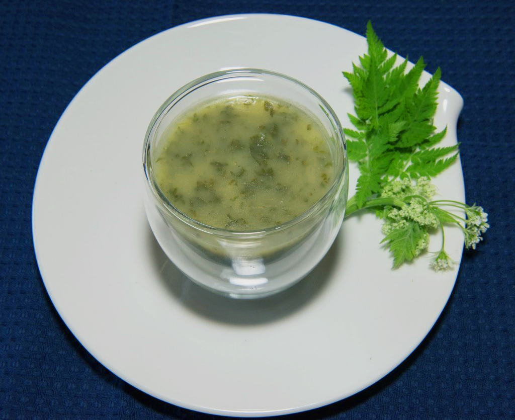 Frühlings-Kerbelsuppe