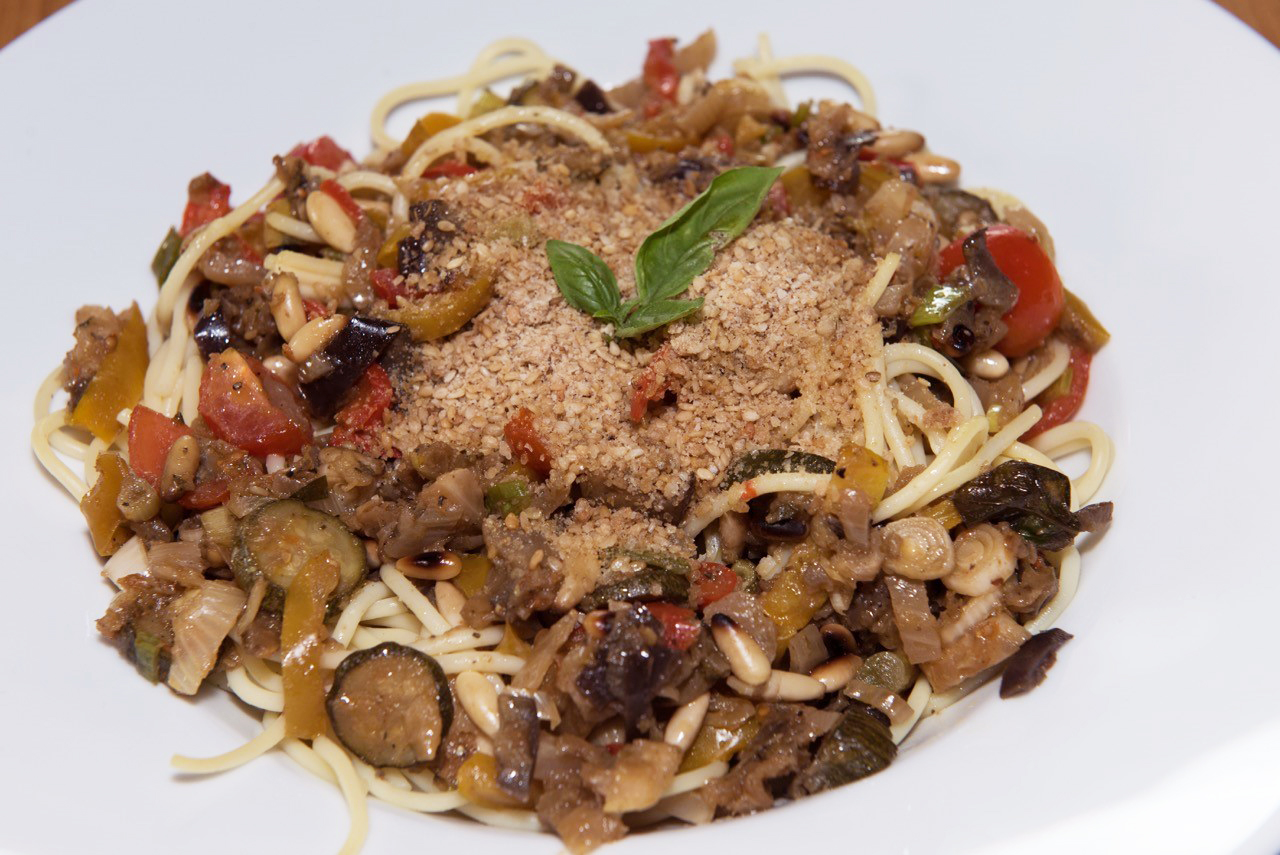 spaghetti sommergemüse