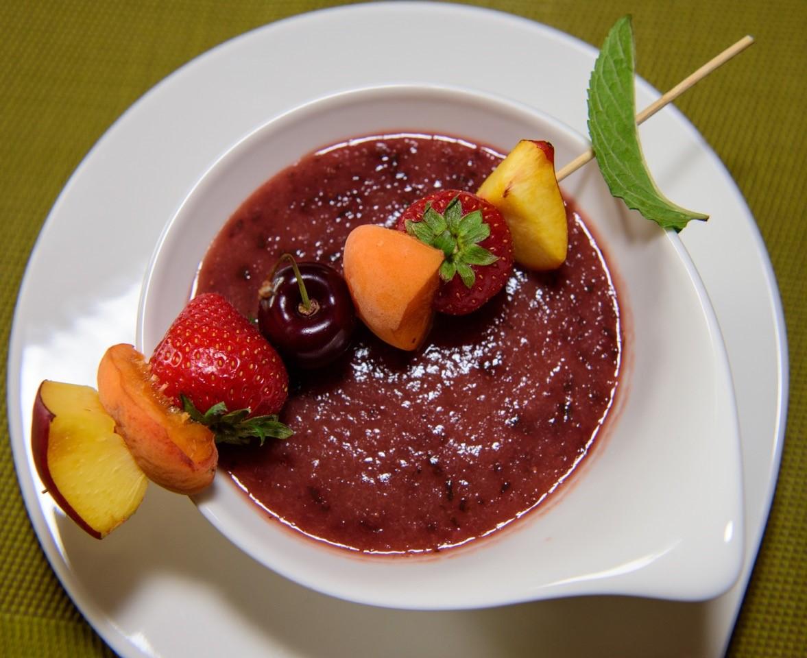 Erdbeer Suppe