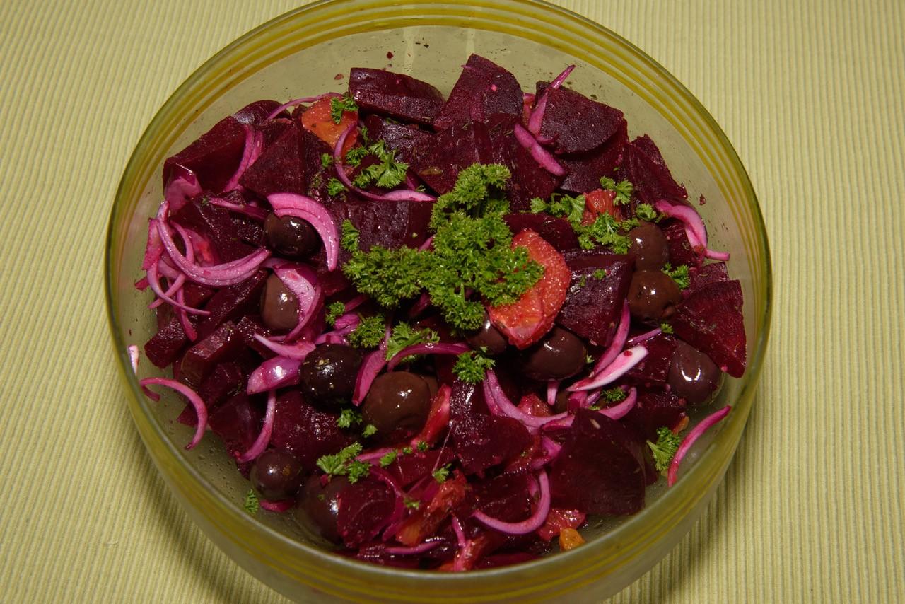 Rote Bete Orangen Salat