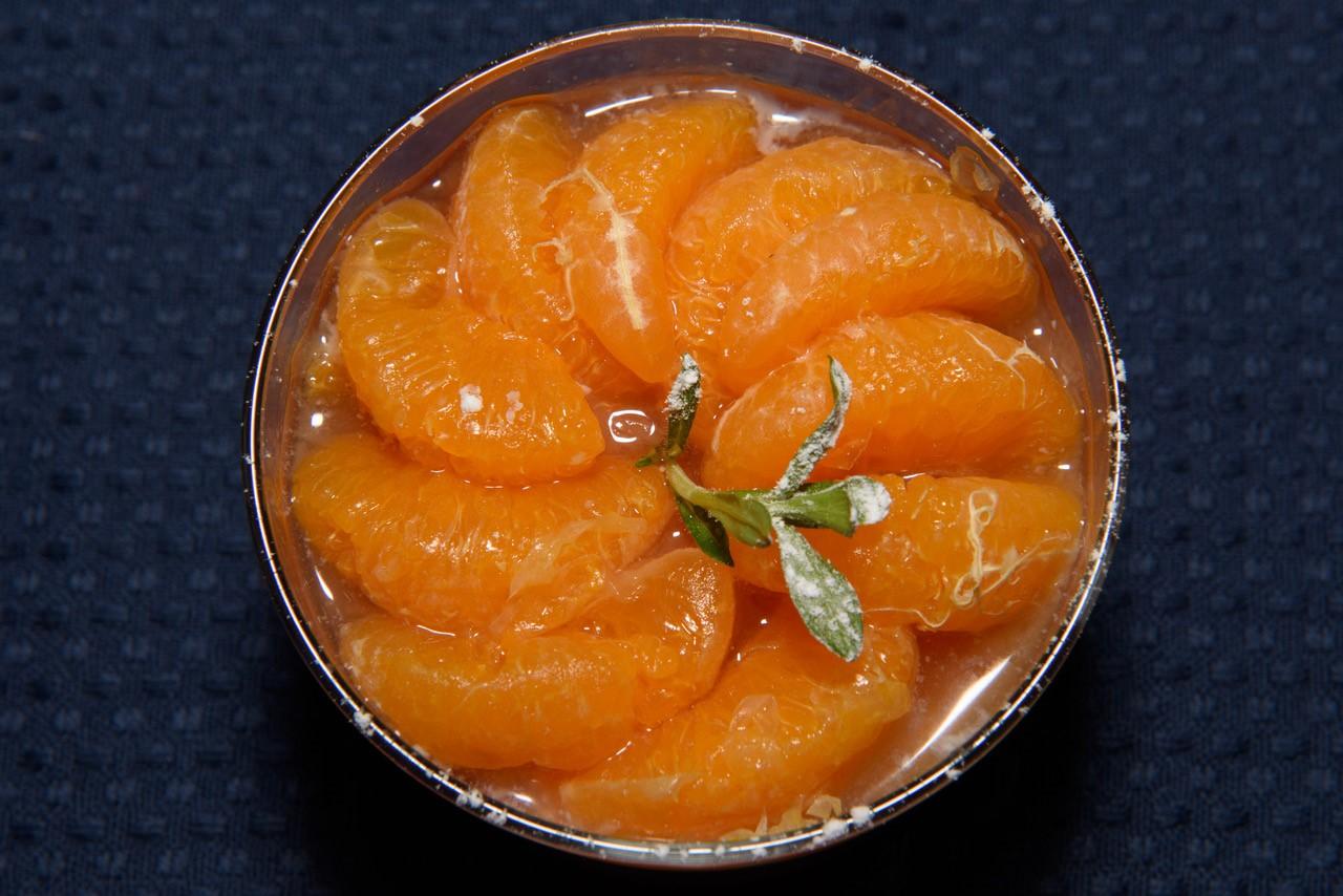 Mandarinnen Panna-Cotta