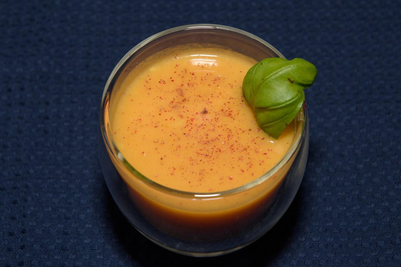 Süsskartoffeln Möhren Suppe